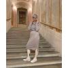 Teplákové šaty stone
